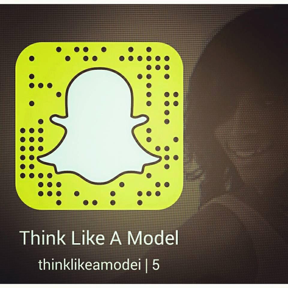 Think Like A Model Snapchat